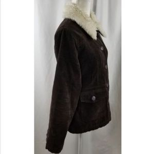 Sonoma Jackets & Coats - Sonoma Life+Style Corduroy Woman's Brown SZ Medium